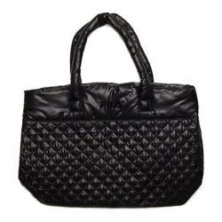 Women's Fila Collezione Quilted Bag Black