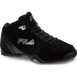 Men's Fila Leave It On The Court 3 Black/Black/Metallic Silver