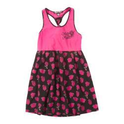 Girls' Metal Mulisha Princess Dress Hot Pink