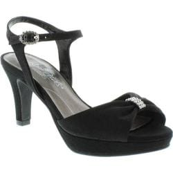 Women's Rose Petals by Walking Cradles Plaza Black Micro