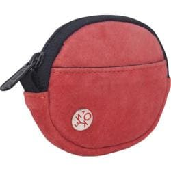 Token Suede Coin Purse Red
