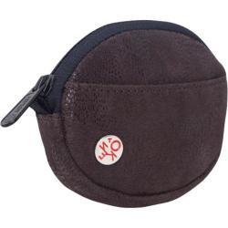 Token Leather Coin Purse Dark Brown