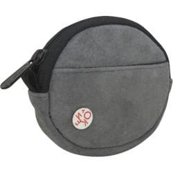 Token Suede Coin Purse Grey