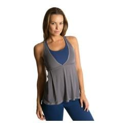 Women's Be Up Loose Fit Power Tank Grey/Navy