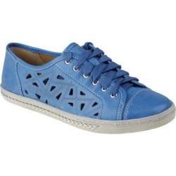 Women's Earth Pomelo Royal Blue Full Grain Leather