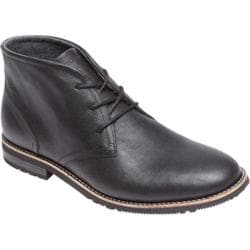 Men's Rockport Ledge Hill Too Chukka Boot Black Leather