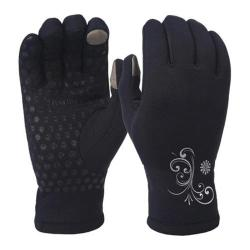 Women's Trailheads Power Stretch Power Gloves Black