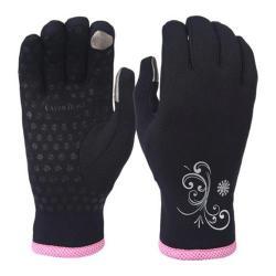 Women's Trailheads Power Stretch Power Gloves Black/Pink