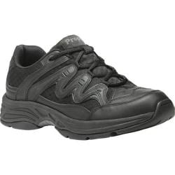 Women's Propet Evie Black Leather/Mesh