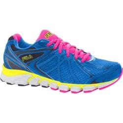 Women's Fila Hypnotizer 2 Energized Electric Blue Lemonade/Pink Glo/Safety Yellow