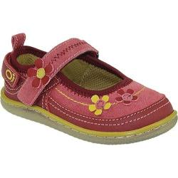 Girls' KidoFit Dahlia Red Leather