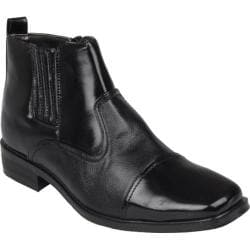 Men's Oxford & Finch High Top Square Toe Dress Shoes Black