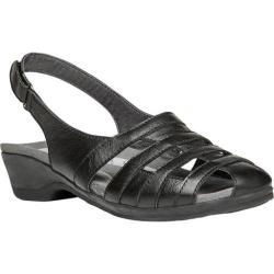 Women's Propet Alisha Black Leather
