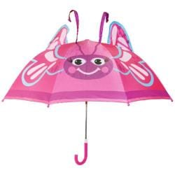 Girls' Western Chief Butterfly Umbrella Purple