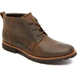 Men's Rockport Charson Lace Up Dark Brown Leather