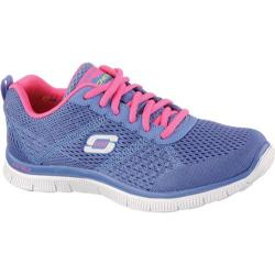 Women's Skechers Flex Appeal Obvious Choice Periwinkle/Pink