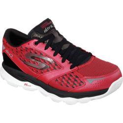 Men's Skechers GOrun Ultra 2 Red/Black 14968293