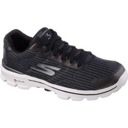 Men's Skechers GOwalk 3 FitKnit Black/White