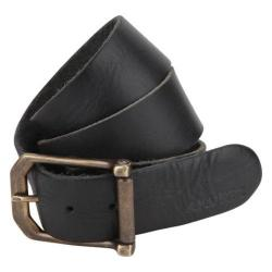 A Kurtz Lambert Buffalo Leather Belt Black