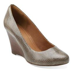Women's Clarks Purity Crystal Mushroom Synthetic Snake Patent