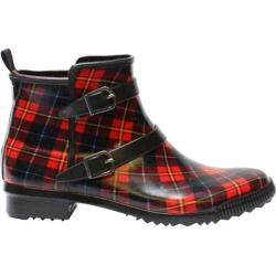 Women's Cougar Royale Red Tartan Rubber