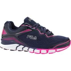 Women's Fila Mechanic 2 Energized Fila Navy/Knockout Pink/Metallic Silver