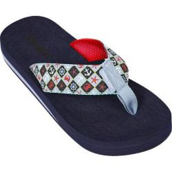 Women's Tidewater Sandals Nautical Class Green/Navy