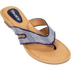Women's Tidewater Sandals Neptune Navy Navy/White