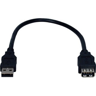 QVS USB 2.0 High-Speed Extension Cable