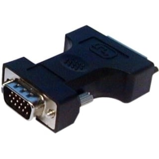 QVS DVI Flat Panel to VGA Adaptor