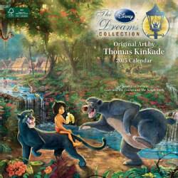 Thomas Kinkade The Disney Dreams Collection 2015 Wall Calendar Calendar image