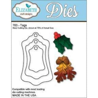 Elizabeth Craft Metal Die - Tags