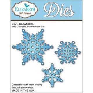 Elizabeth Craft Metal Die - Snowflakes