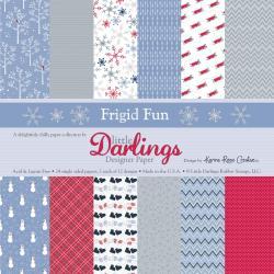 Little Darlings 6 X6 Paper Pad - Frigid Fun