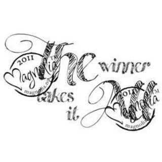The Winner Takes It All Cling Stamp 5.75 X5.75 Package - The Winner Takes It All