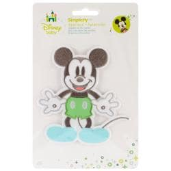 Disney Mickey Mouse Mickey Full Body Iron-On Applique -
