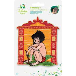 Disney Jungle Book Mowgli Iron-On Applique -