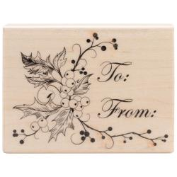 Penny Black Mounted Rubber Stamp 2.5 X3.25 - To You & Yours