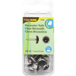 Upholstery Decorative Nails 7/16 24/Pkg - Onyx Stone