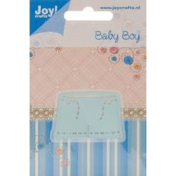 Joy! Crafts Cut & Emboss Die - Baby Boy - Trousers, 1.25 X1.875