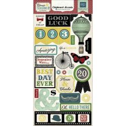 Times & Seasons 2 Chipboard Accents 6 X12 -