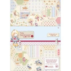 Tilly Daydream Ultimate Die-Cut & Paper Pack A4 - 48/Sheets