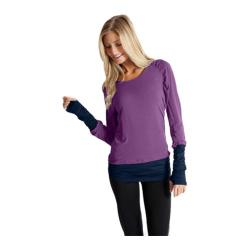 Women's Be Up Serenity Hoodie Eggplant/Indigo