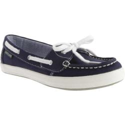 Women's Eastland Skip Navy Canvas