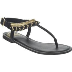 Women's Fergalicious Ferris Black Synthetic Leather