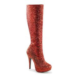 Women's Funtasma Lolita 300G Red Glitter