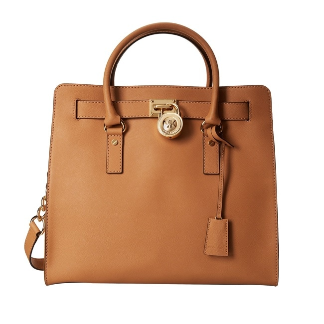 MICHAEL Michael Kors Hamilton North/South Saffiano Satchel