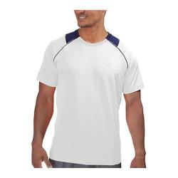 Men's Fila Platinum Raglan Crew Neck White/Navy Power