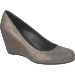 Women's Franco Sarto Olivia Gunmetal Bronze Bovery Leather