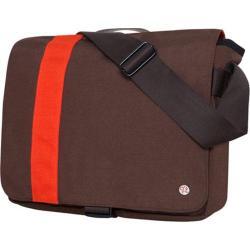 Token Astor Shoulder Bag Medium Dark Brown/Orange